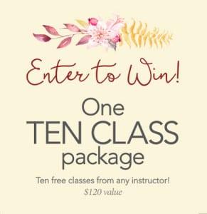 Enter to win breezeway yoga studio yoga basics with patty breezeway yoga studio knoxville tennessee united states m4hsunfo