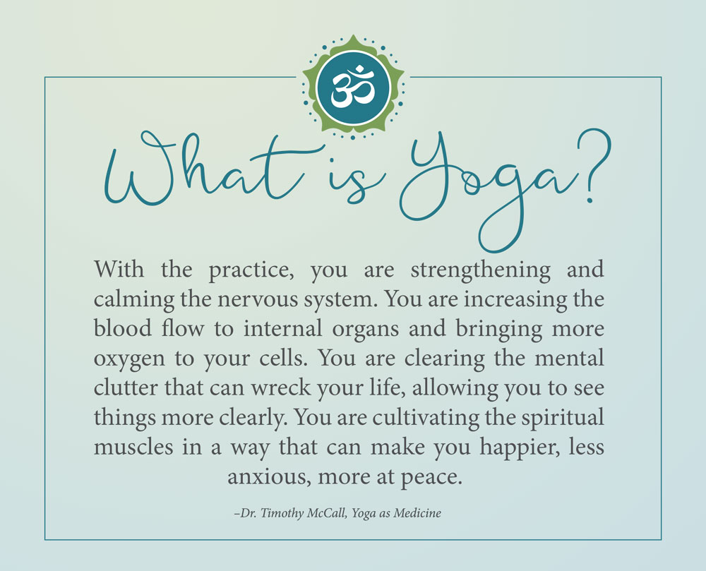 What is yoga 43