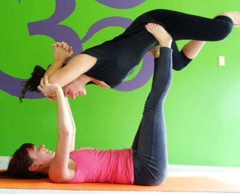 Beginner Acro Yoga with Rebekah Luhrs @ Breezeway Yoga Studio | Knoxville | Tennessee | United States